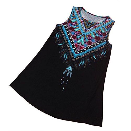 3 compras mujer Vestido tipo 365 para de de gasa verano de nqpYrqv8