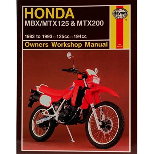 Honda MBX/MTX 125 & MTX200: Owners Workshop Manual