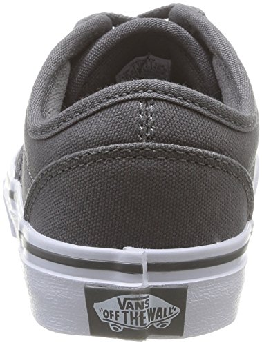 Top Low Atwood Boys' Vans Pewter White Sneakers Yt 1qZAxxtwI