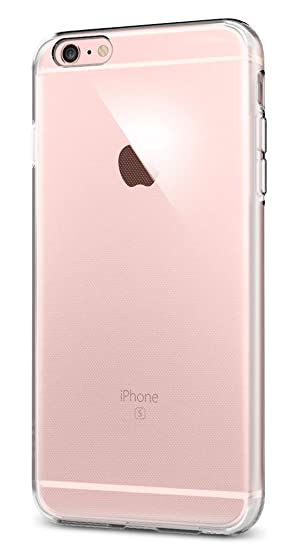 spigen Funda iPhone 6S Plus, Carcasa [Liquid Crystal] Protección Slim y Claridad Premium para iPhone 6S Plus/iPhone 6 Plus - Trasparent