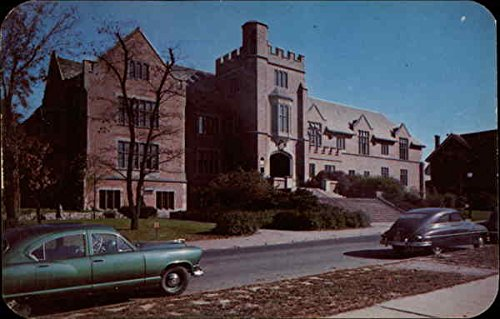 (Women's Activities Building, OSU Columbus, Ohio Original Vintage Postcard )