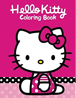 Hello Kitty Coloring Book For Kids And Adults 50 Illustrations Perfect