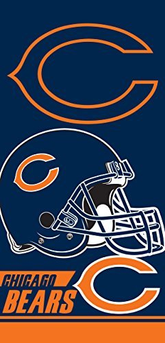 - The Northwest Company Chicago Bears NFL Licensed 28x58 Cotton Velour Beach Towel
