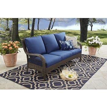 Amazon Com Real Flame 9621 Baltic 3 Seat Sofa Garden