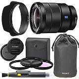 SonyVario-Tessar T FE 16-35mm f/4 ZA OSS Lens with Sony Lens Pouch, UV Filter, Circular Polarizing Filter, Fluorescent Day Filter, Sony Lens Hood, Front & Rear Caps - International Version