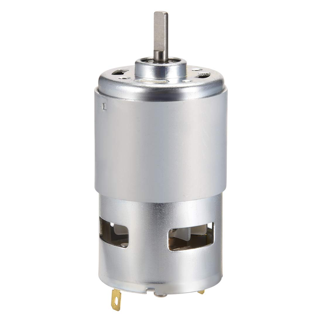 sourcing map Small Motor DC 24V 5500RPM High Speed Motor for DIY Hobby Toy Cars Remote Control