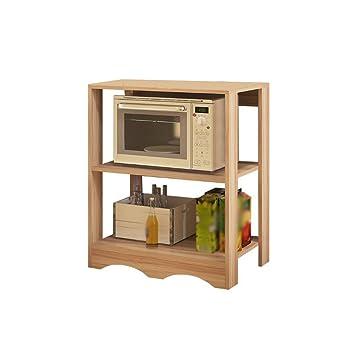 MyYztsj-kitchen rack Creatividad Cocina Horno de microondas Repisa ...