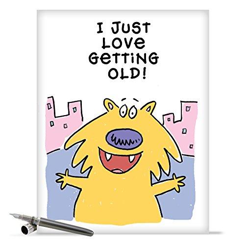 J9673 Jumbo Funny Birthday Card
