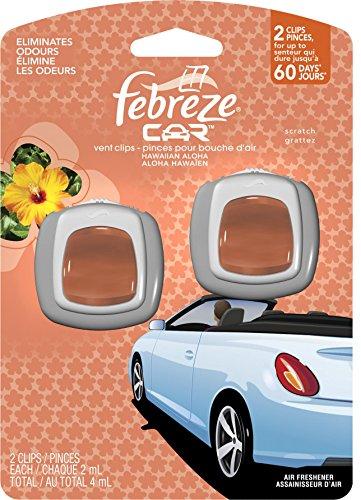 Febreze 81118 Car Vent Clip, Liquid, Amber by Procter & Gamble