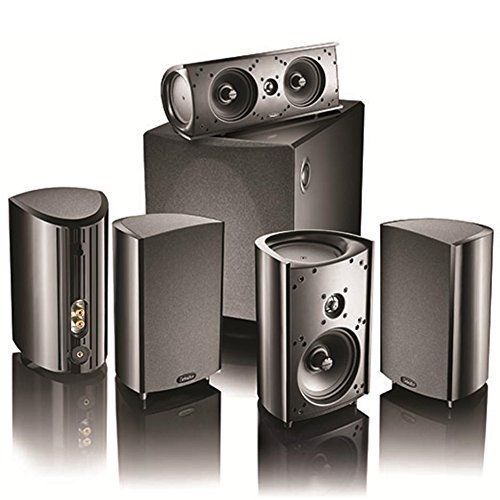 Definitive Technology ProCinema 1000 System with ProCenter 2000 Upgrade – 6 Piece 5.1 Channel Home Theater Speaker System