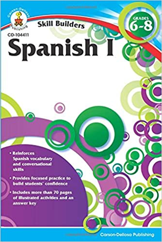 Buy Spanish I Grades 6 8 Skill Builders Book Online At Low