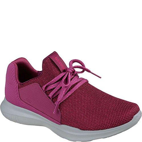 Skechers Performance Women's Go Run Mojo-Verve Sneaker,Pink,7 M US