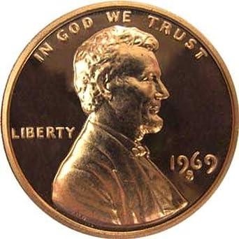 1969-S PROOF CENT