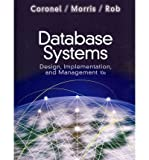 Database System Design Implementation Management, Coronel, 1111969590