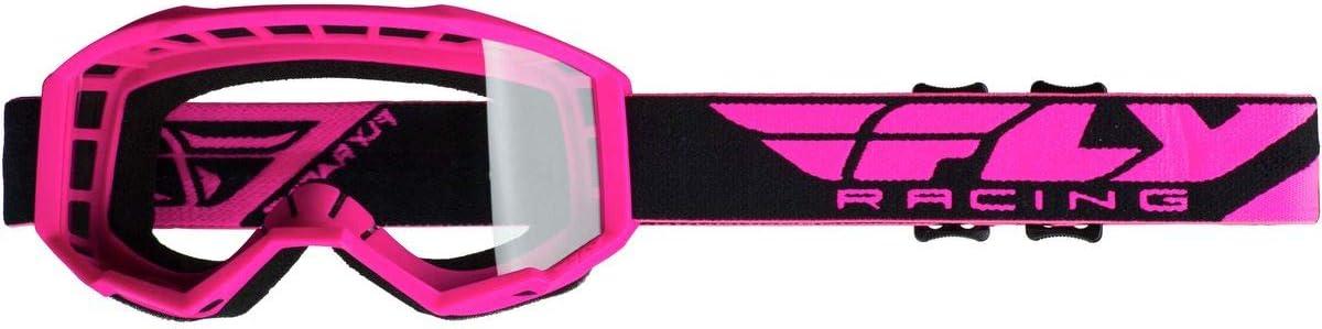 HI-VIZ Pink Fly Racing 2019 Youth Focus Goggles