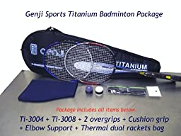 Genji Sports Tournament Player Badminton Racket Package