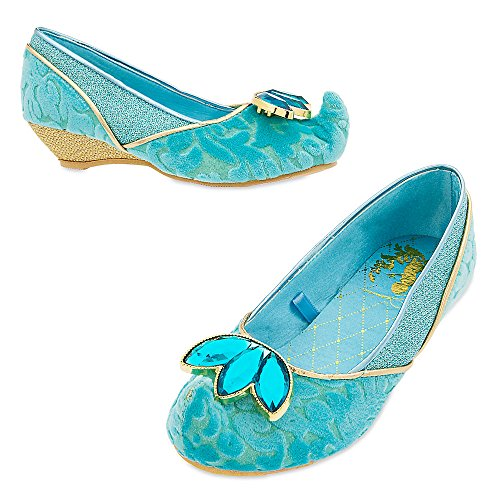Disney Jasmine Costume Shoes for Kids Size 2/3 (Aladdin Costume Carpet)