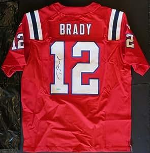 Amazon.com: Tom Brady Autographed Patriots Nike PRO