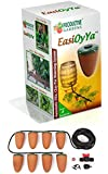 EasiOyYa Automatically Delivers Water To The Roots Of Your Plants 24/7 - Professional Watering Spikes - Long Term Holiday Watering - Natural Olla Irrigation