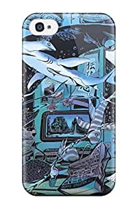 New Style 6058194K980015923 anime under fish magical original Anime Pop Culture Hard Plastic iPhone 4/4s cases