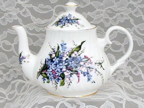 english 2 cup teapot - 8
