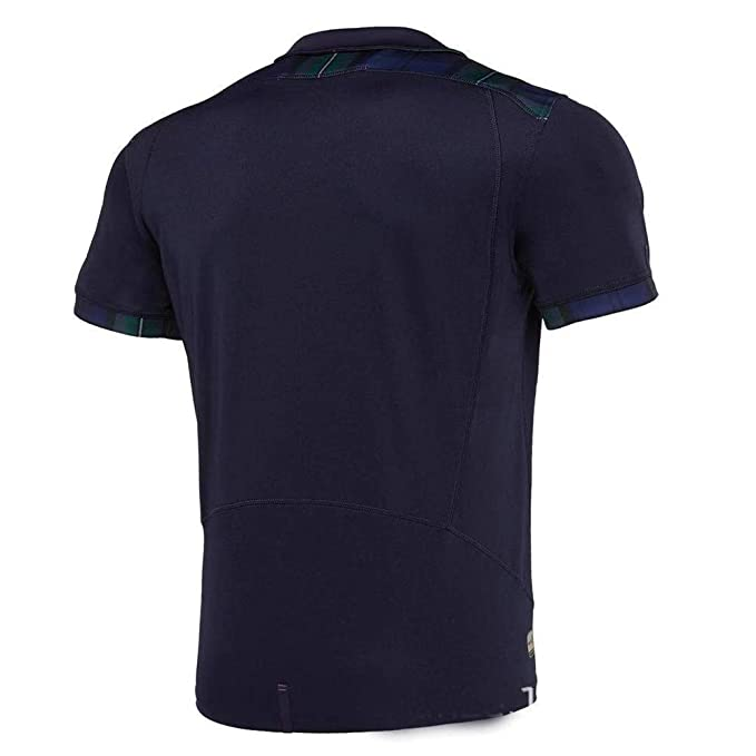 Rugby Jersey Escocia Local/visitante Fan T-Shirts Hombres Deportes ...