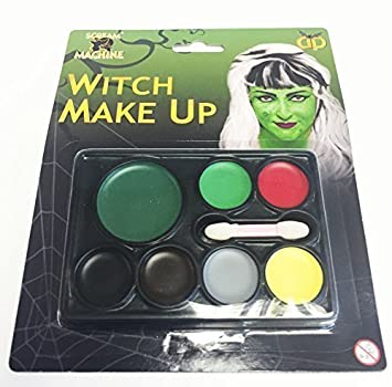 Halloween Make Up Set Wicked Witch Zombie Poison Ivy Face ...