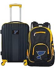 Denco Unisex-Adult NHL Vegas Golden Knights 2-Piece Luggage Set NHGKL108-P