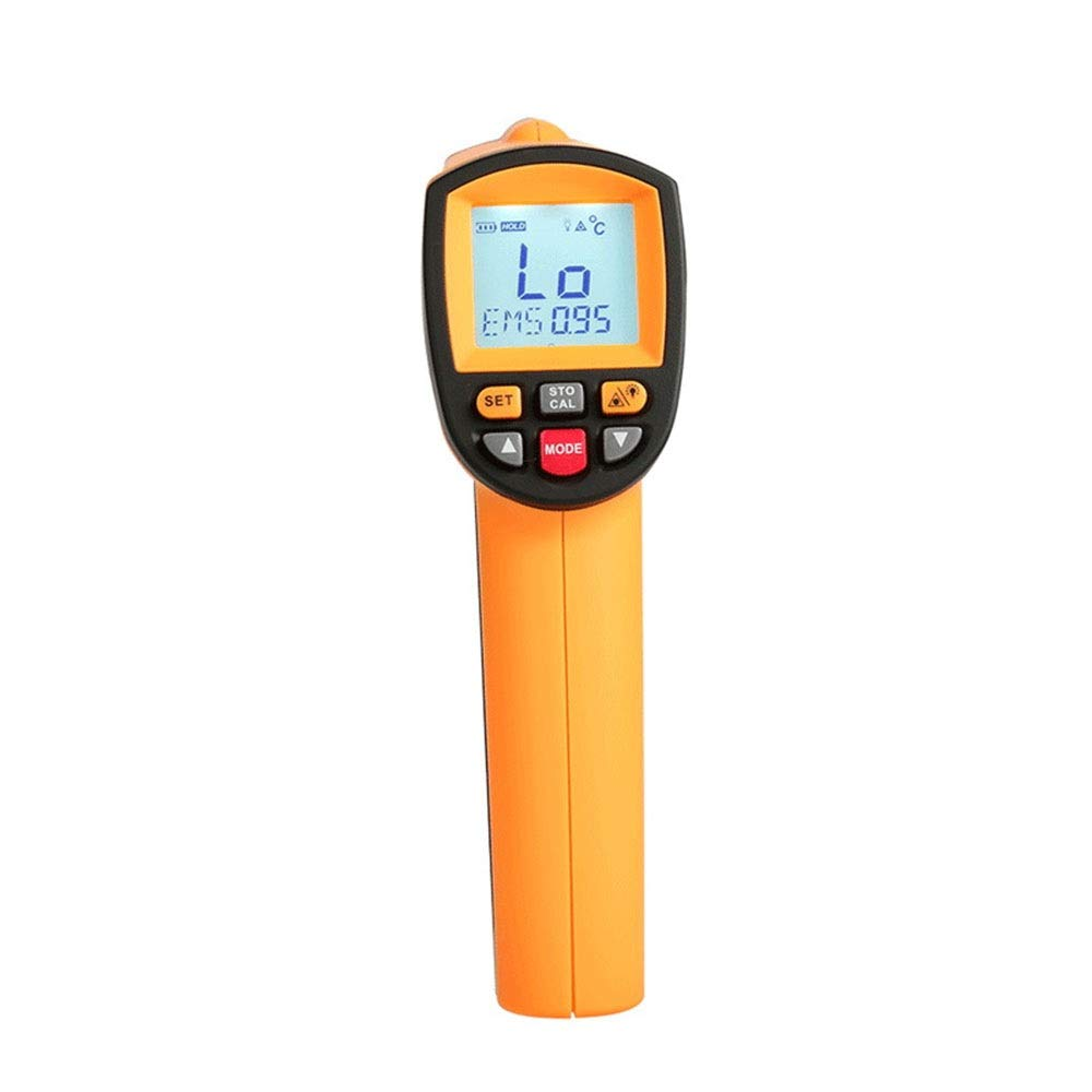 MATCHANT Infrared Thermometer High Temperature Industrial Thermometer Metallurgical Steel Forging Thermometer (Color