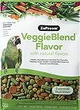 Zupreem 230361 Veggieblend Caged Medium And Large Bird Food, 3.25-Pound