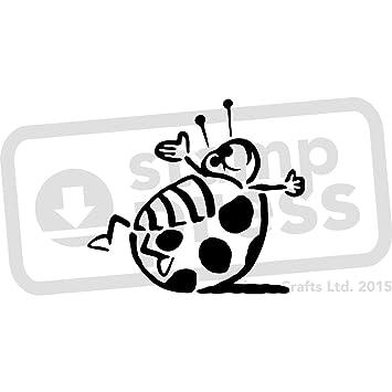 Amazon.com: A4 \'Ladybird\' Wall Stencil / Template (WS00004531)