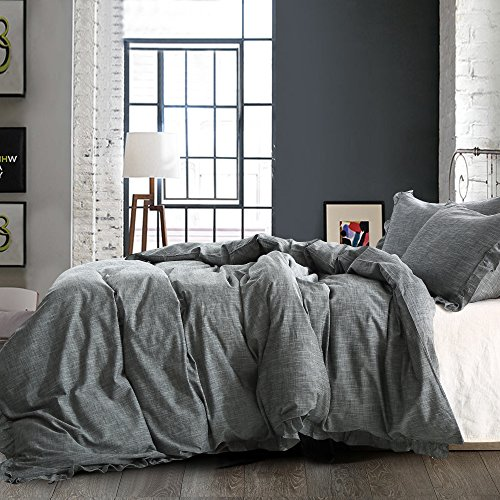 Ntbay Comin18ju075970 Ntbay Linen 3 Pieces Duvet Cover Set