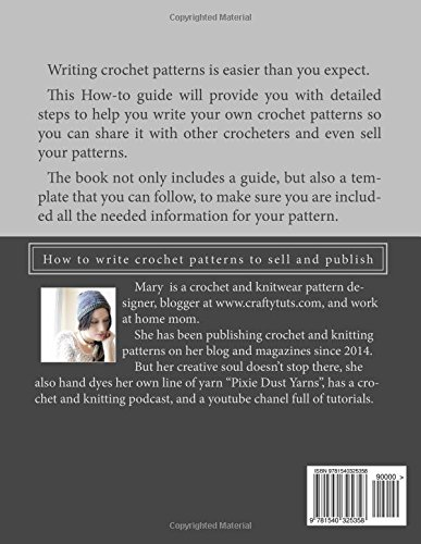 Writing Crochet Patterns How To Write Crochet Patterns To Sell And