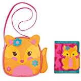 Stephen Joseph Fox Crossbody Purse and Fox Wallet Combo - Cute Gifts for Girls