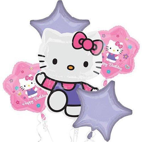 Hello Kitty Balloon Birthday Party Favor Supplies 5ct