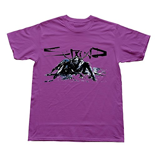 Goldfish Men's Hot Topic Casual Staind T-Shirt Purple US Size XS