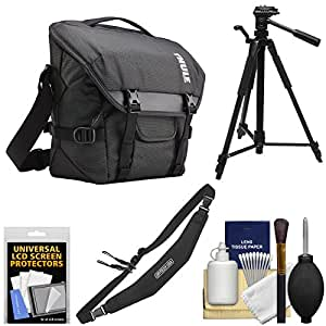 Thule TCDS-101 Covert DSLR Camera Satchel Bag with Tripod + Strap + Kit