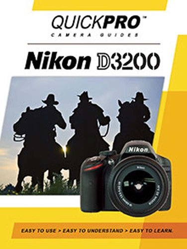 Nikon D3200 Instructional DVD by QuickPro Camera ()