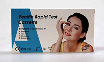 Ferritin Self test kit by ALLTEST accurate fast and easy Ferritin test in  under 10 minutes (1)