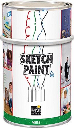 MagPaint 1.5L Sketch Paint - White by MagPaint