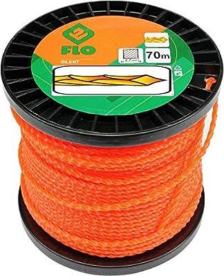 FLO 89485 - cortadora de hierba línea 2.7mmx70m silencio/giro ...