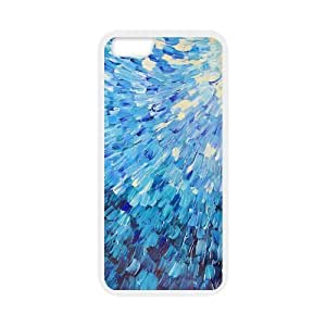 Classic Style Custom Silicone Hard Rubber Protector Case for iPhone6(4.7inch) - Mermaid Scales