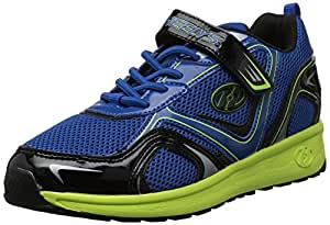 Heelys Rise Shoes, Blue/Yellow/Black, Size 1