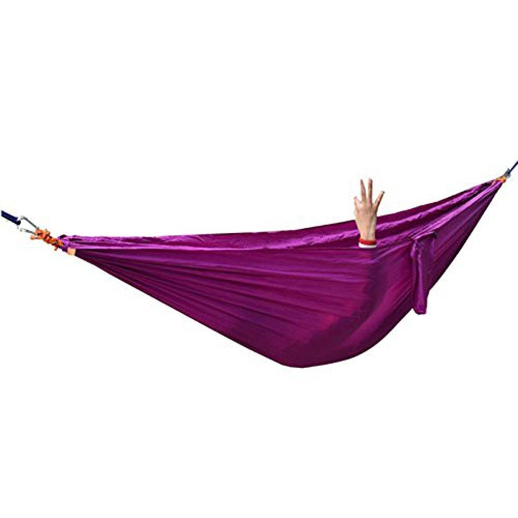 Lx Hammock Parachute Tuch Doppel Hängematte im Freien Camping Schaukel