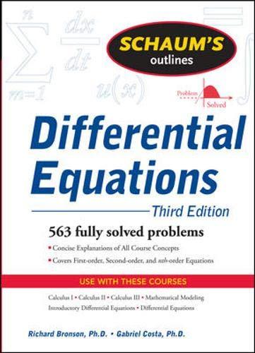 Schaum's Outline of Differential Equations, 3ed (Schaum's...
