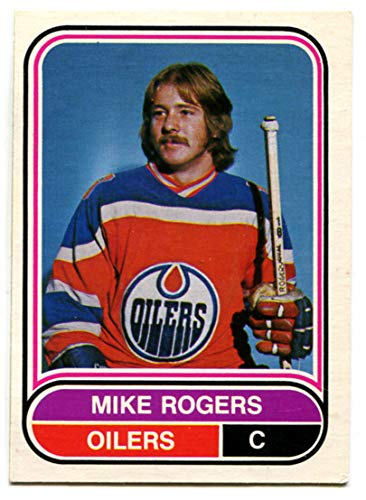 huge discount d76a8 04917 Amazon.com : OPC 1975/76 WHA Mike Rogers Rookie Card #8 ...