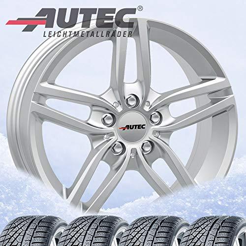 Autec Kitano Xtra Winter Bikes 7.5 x 17 ET52 5 x 112 Brilliant Silver with...