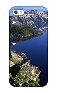 New Style Iphone 5/5s Crater Lake Oregon Tpu Silicone Gel Case Cover. Fits Iphone 5/5s 8430487K77301580
