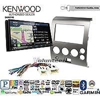 Volunteer Audio Kenwood DNX874S Double Din Radio Install Kit with GPS Navigation Apple CarPlay Android Auto Fits 2004-2005 Armada 2004-2007 Titan