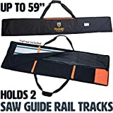 Rugged Tools Guide Rail Bag - Protective Track Saw Bag For Saw Guide Rails up to 59'